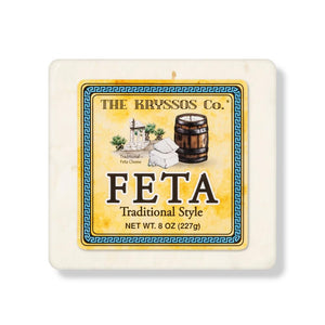 Kryssos Traditional Feta, 8 Oz (Pack of 3)