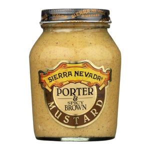 Sierra Nevada Porter & Spicy Mustard, 8 oz. (Case of 6)