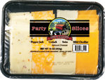 New Bridge Assorted Party Sliced Cheese, 16 Oz (Pack of 3)