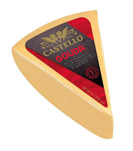 Castello Gouda Wedge, 8 Oz (Pack of 3)
