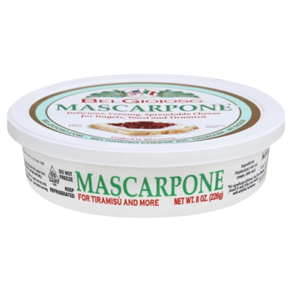 Belgioioso Mascarpone Cup, 8 Oz (Pack of 3)