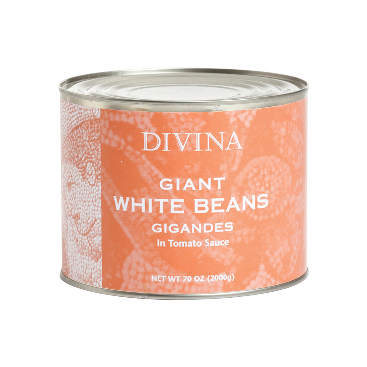 Divina Gigandes Bean In Tomato Sauce, 4.4 lb
