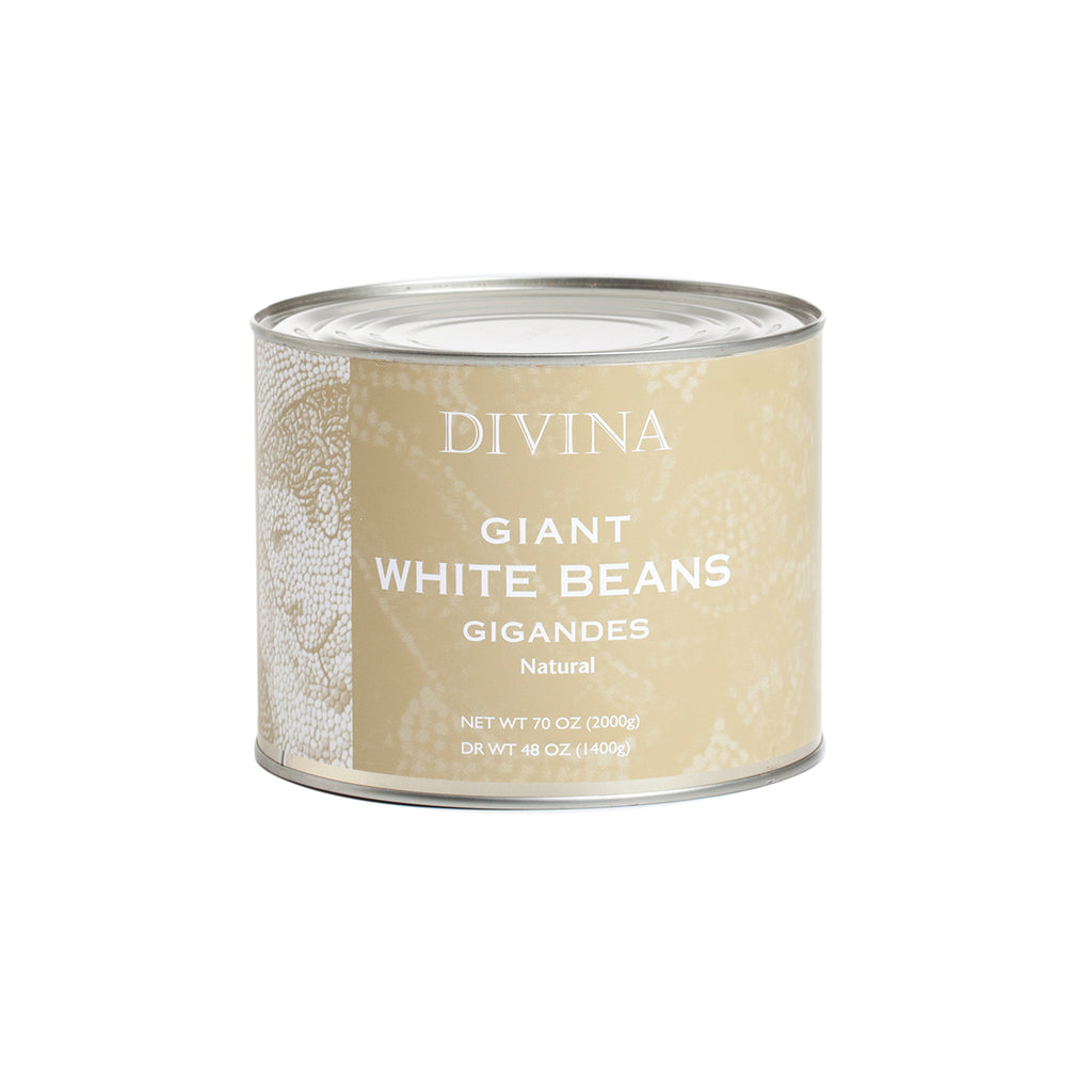 Divina Giant White Beans Natural, 3.1 lb