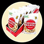 Nutritious Living Popcorn Granola, Vanilla Almond, 3.5 oz (Case of 10)