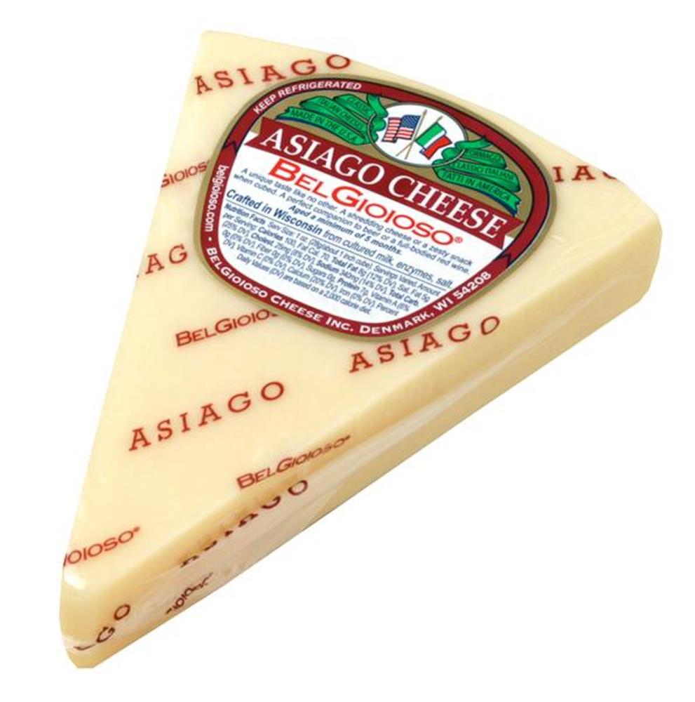 Belgioioso Asiago Wedges, 5 Oz (Pack of 3)