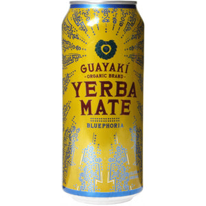Guayaki Yerba Mate, Bluephoria, 16 oz. (Case of 12)