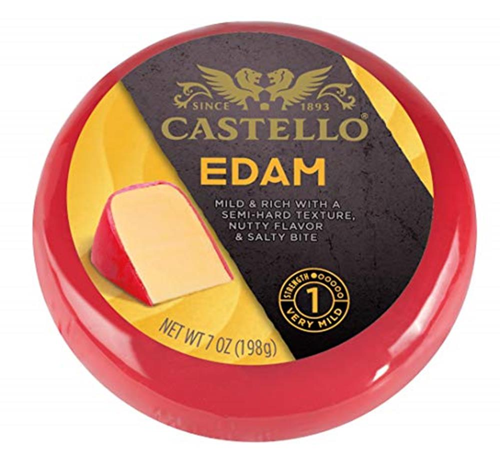 Castello Edam Rounds, 7 Oz (Pack of 3)