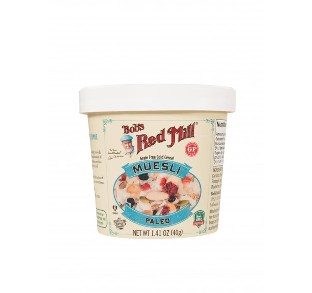 Bob's Red Mill Paleo Muesli Cup, 1.41 oz. (Case of 12)