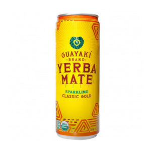 Guayaki Yerba Mate, Sparkling Classic Gold, 16 oz. (Case of 12)