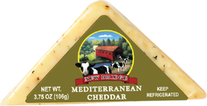 New Bridge Mini Mediterranean Cheddar, 3.75 Oz (Pack of 3)
