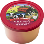 New Bridge Port Wine Cheese Spread, 8 Oz (Pack of 3)