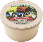 New Bridge Horseradish Flavored Cheese Spread, 8 Oz (Pack of 3)