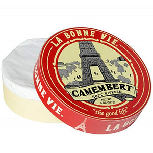 La Bonne Vie Camembert, 8 Oz (Pack of 3)