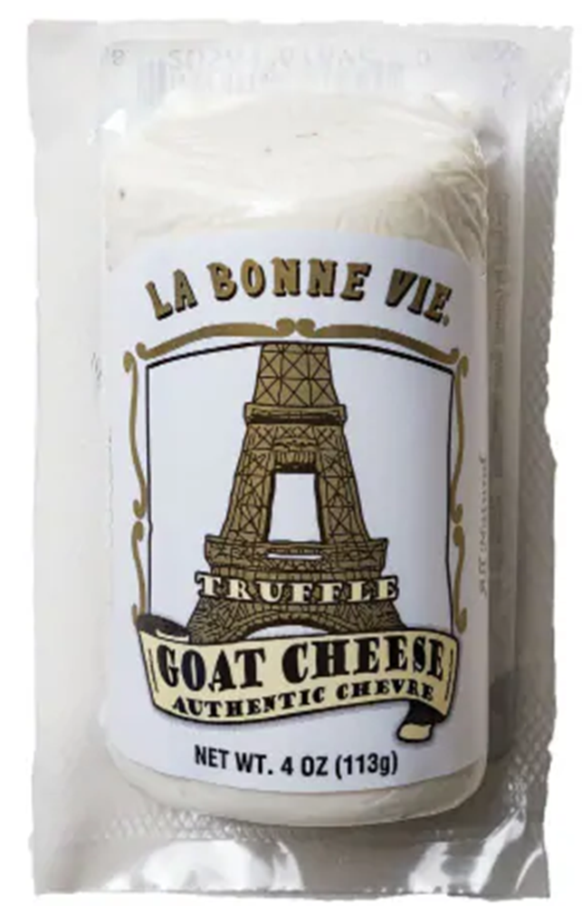 La Bonne Vie Truffle Goat Log, 4 Oz (Pack of 3)