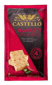 Castello Jalapeno Havarti, 8 Oz (Pack of 3)
