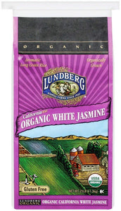Lundberg Family Farms Organic White Jasmine Rice, 25 lb
