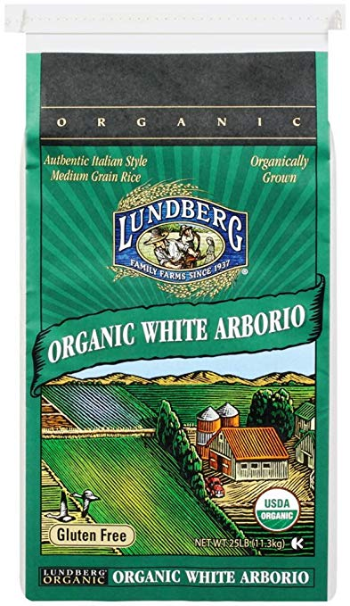 Lundberg Family Farms Organic Arborio Rice, 25 lb