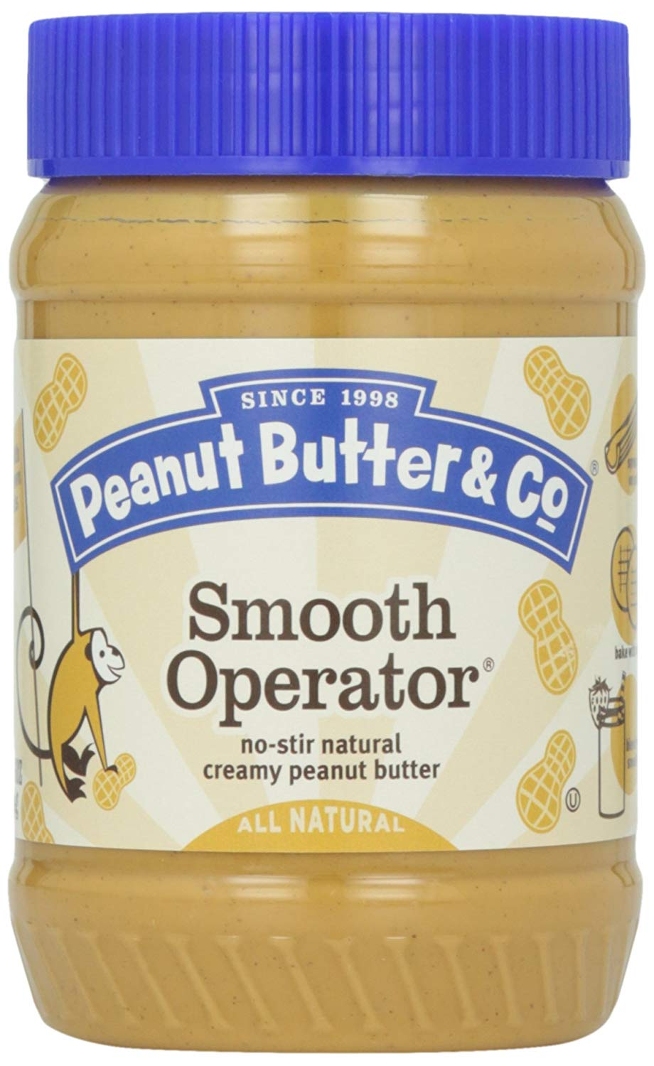Peanut Butter & Co. Smooth Operator, 16 oz. (Case of 6)