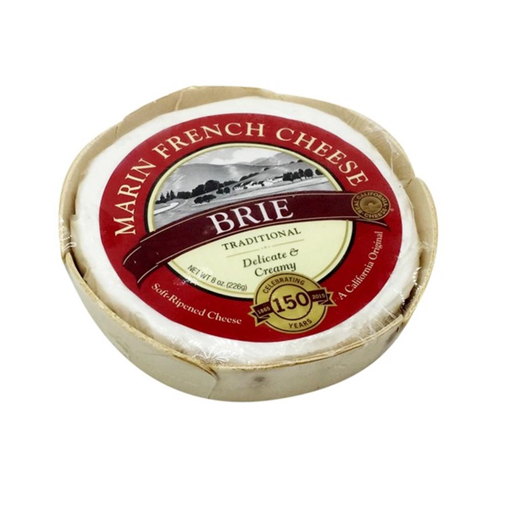 Marin French Brie, 8 Oz (Pack of 3)