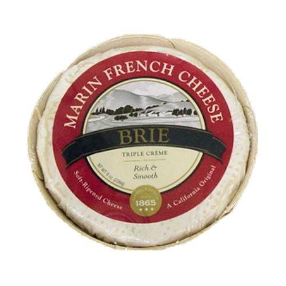 Marin French Triple Cream Brie, 8 Oz (Pack of 3)