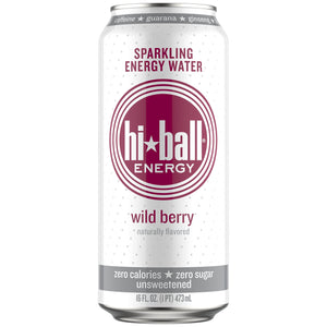 Hiball Wild Berry Water, 16 oz (Case of 8)