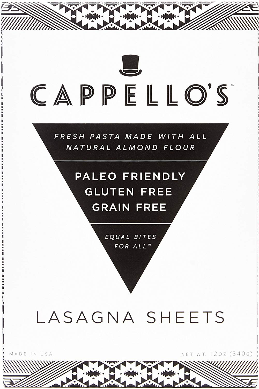 Cappello's Gluten Free Lasagna, 12 oz. (Pack of 6)