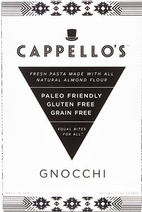 Cappello's Gluten Free Gnocchi, 12 oz. (Pack of 6)