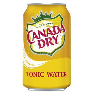 Canada Dry Tonic Water, 12 oz (Pack of 24)