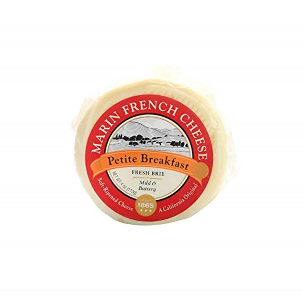 Marin French Petit Breakfast Fresh Brie, 4 Oz (Pack of 3)