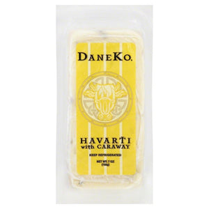Daneko Danish Caraway Havarti, 7 Oz (Pack of 3)