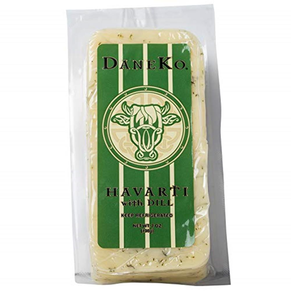 Daneko Danish Dill Havarti, 7 Oz (Pack of 3)
