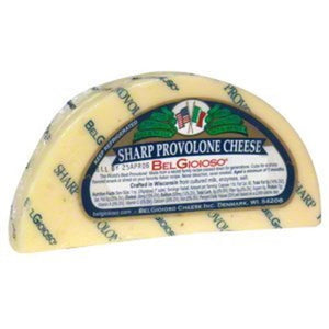 Belgioioso Sharp Provolone Wedges, 5 Oz (Pack of 3)