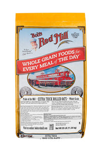 Bob's Red Mill Organic Thick Rolled Oats, 50 lb