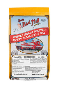 Bob's Red Mill Golden Couscous, 25 lb