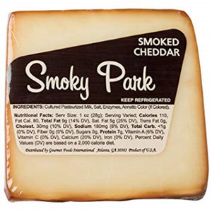 Smoky Park Smoked Cheddar, 7 Oz (Pack of 3)