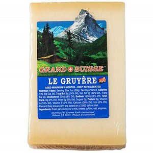 Grand Suisse Gruyere, 8 Oz (Pack of 3)