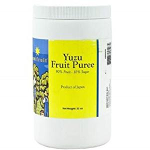 Amifruit Yuzu Fruit Puree, 2 lbs
