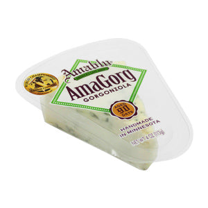 Amablu Gorgonzola Wedge, 4 Oz (Pack of 4)