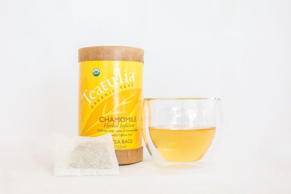 Teatulia Chamomile Herbal Infusion Tea, 6/30 ct