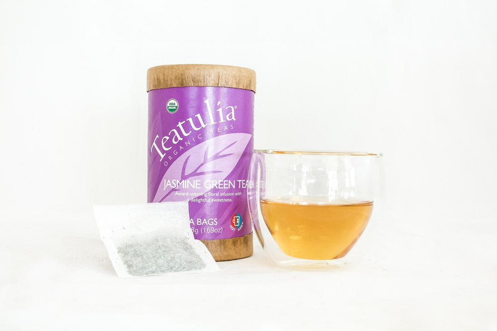 Teatulia Jasmine Green Tea, 6/30 ct