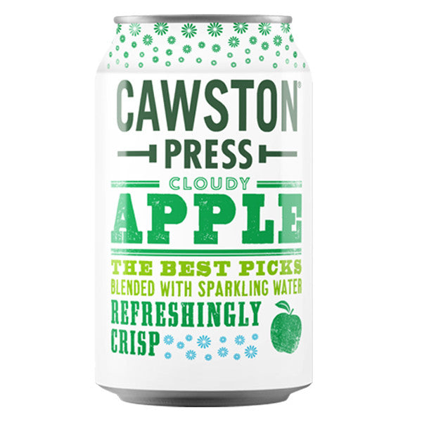 Cawston Press, Cloudy Apple, 11.15 Oz (Case of 24)