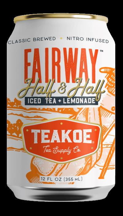 Teakoe Fairway Half & Half Iced Tea + Lemonade - 12 Fl Oz (Case of 12)