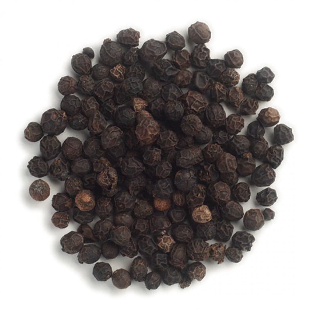 Frontier Whole Lampong/Malabar Black Peppercorns, 1 lb