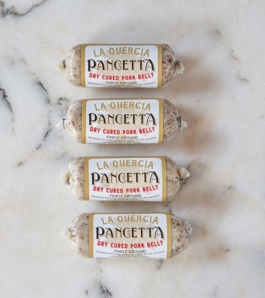 La Quercia Ground Pancetta Spread, 4 oz (Pack of 4)