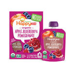 Happy Kid Apple Blueberry & Pomegranate, 3.17 oz (Case of 16)