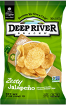 Deep River Jalapeno Chips, 2 oz (Case of 24)