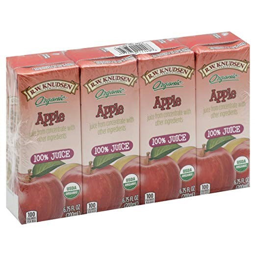 Knudsen Apple Juice Boxes, 6.75 oz (28 ea)