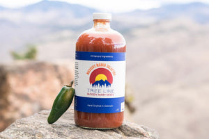 Tree Line Massive Mango Jalapeno Bloody Mary Mix, 32 Oz Bottle