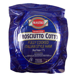 Mastro Prosciutto Cotto, 11 lb Avg (Case of 2)