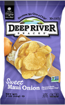 Deep River Maui Onion Chips, 2 oz (Case of 24)